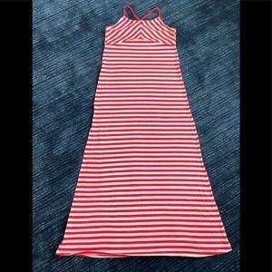 EUC. Old Navy Girls Striped Maxi Dress